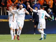 Benzema ha anotado 126 goles en Liga. EFE
