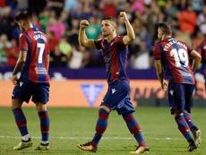 Bardhi regresa con el Levante y se prepara para el Madrid. EFE