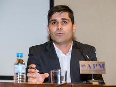 Aganzo reconoció el gran mérito de las jugadoras en la huelga. EFE