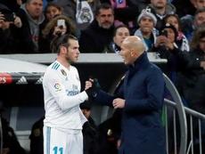Bale jugó nueve minutos en Butarque. EFE/Archivo