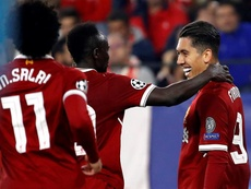 Klopp wouldn´t swap any of Liverpool's front three for PSG's. EFE
