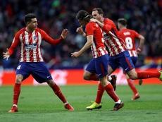 L'Atlético a terminé deuxième cette saison. EFE