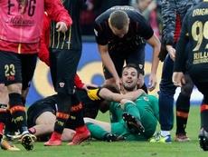 Brignoli rescues Benevento to spoil Gattuso's Milan debut. AFP