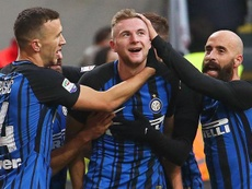Milan Skriniar has been in tremendous form for Inter this season. EFE/EPA