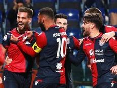 Pavoletti suena para aterrizar en la Liga Española. EFE/EPA