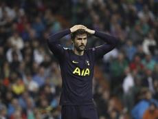 El delantero español está esperando la mejor oferta para encontrar equipo. EFE