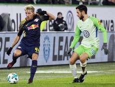 Kampl cree que el RB Leipzig-Atlético estará muy igualado. EFE