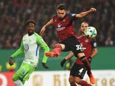 El Nürnberg no conoce la victoria desde septiembre. EFE