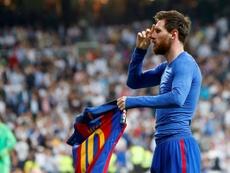 Messi decidió el último 'Clásico' jugado en el Bernabéu. EFE/Archivo