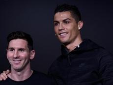 Lampard choisit entre Messi et Ronaldo. EFE