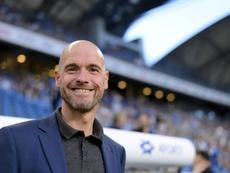 Erik ten Hag ha metido al Ajax en semifinales de la Champions. EFE/Archivo