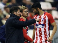 Costa est devenu la star du club madrilène. EFE