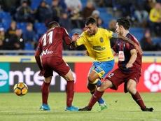 Jonathan Viera volverá a Las Palmas por cuarta vez. EFE