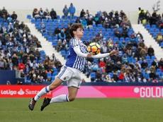 Odriozola jugará en el Madrid. EFE