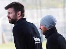 Piqué apunta a ser el nuevo capitán del Barcelona. EFE