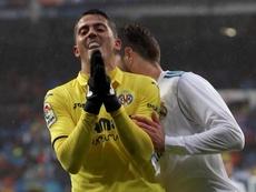 Fornals dio la victoria al Villarreal en el Bernabéu. EFE