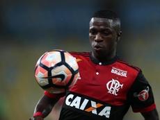 Vinicius Junior comes in third in the list. EFE/Archivo