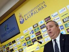 El presidente de Las Palmas habló de la salida de Viera. EFE
