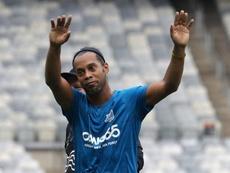 futbolista brasileiro Ronaldinho Gaúcho. EFE/Archivo