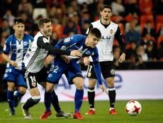 El Valencia no tiene por costumbre dejar escapar los 2-1. EFE