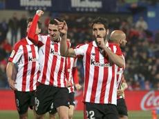 El Athletic acumula nueve jornadas sin perder. EFE