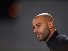 Mascherano habló sobre la situación del Barça. EFE/Archivo