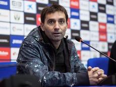 Garitano analizó la derrota ante el Atleti. EFE
