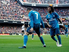 El Valencia en Mestalla, víctima perfecta para Cristiano. EFE