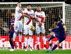 Messi scored the winner. EFE