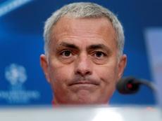 Mourinho, muy crítico con su equipo. EFE/Archivo
