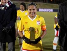 Leicy Santos suena para jugar en el Atleti. EFE