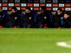 Messi ha disfrutado de más descansos este curso. EFE