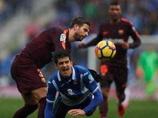 Gerard Moreno está concentrado con la Selección Española. EFE
