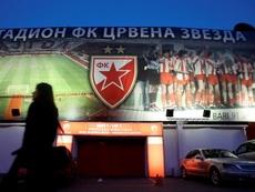 Los cánticos de la hinchada del Estrella Roja le han costado caros al club serbio. EFE/Archivo
