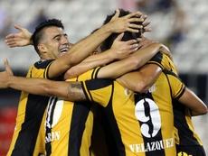 Guaraní ganó 3-1 a Sportivo San Lorenzo. EFE