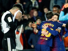 Messi didn't score, but still guided the team. EFE