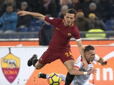 Divertido test de Florenzi. EFE