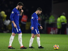 Giroud was impressed with Hazard to say the least. EFE/Archivo