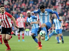 O Athletic bateu o Málaga por 2-1. EFE