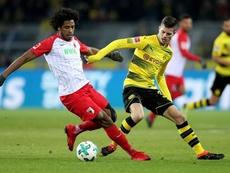 Augsbourg supérieur à Dortmund. EFE