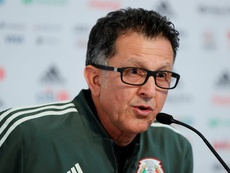Le sélectionneur mexicain est colère. EFE