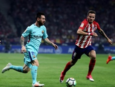Saul believes stopping Messi is more or less impossible. EFE