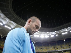Sneijder cree que es el quinto mejor jugador de la historia de Países Bajos. EFE