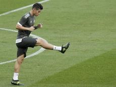 James Rodríguez, jogador do Bayern. AFP