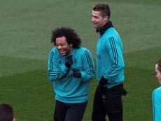 Cristiano veut Marcelo. EFE