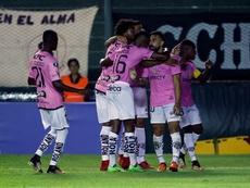 Independiente sale vivo de Ambato. EFE