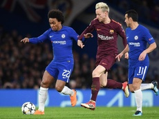 Willian is in limbo. EFE