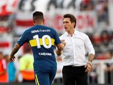 Cardona quiere convencer a Guillermo. EFE