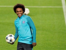 Willian is keen on the move to Catalonia. EFE