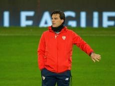 Montella recordó la eliminación del United. EFE/Archivo